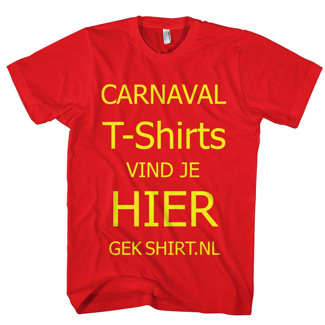 Leuke CARNAVAL T-SHIRTS