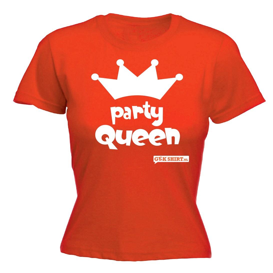 Party Queen Dames shirt