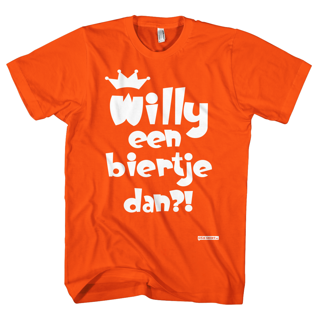 Willy een biertje dan?!