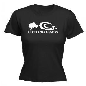 CUTTING GRASS Dames shirt