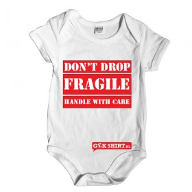 Don't drop fragile handle with care Rompertjes