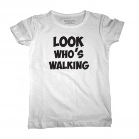 Look who's walking, leuk kinder T-shirt
