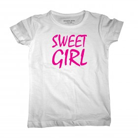 Sweet girl, Leuk kinder shirt