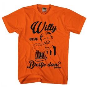 Willy een biertje dan? Willy Koningsdag Heren shirts 2016