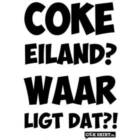 Coke eiland? Waar ligt dat?!