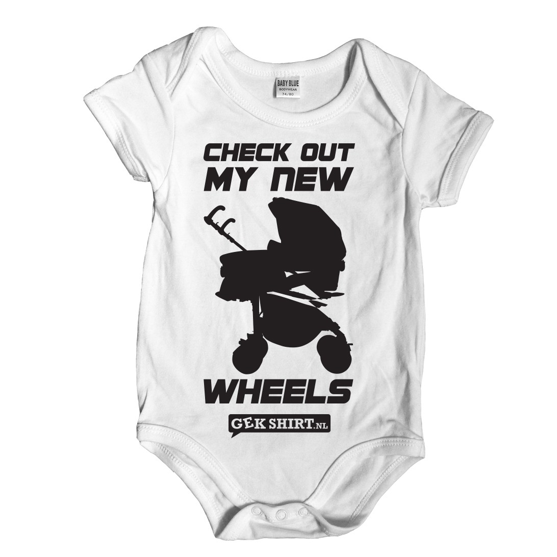 Check out my new wheels Romper