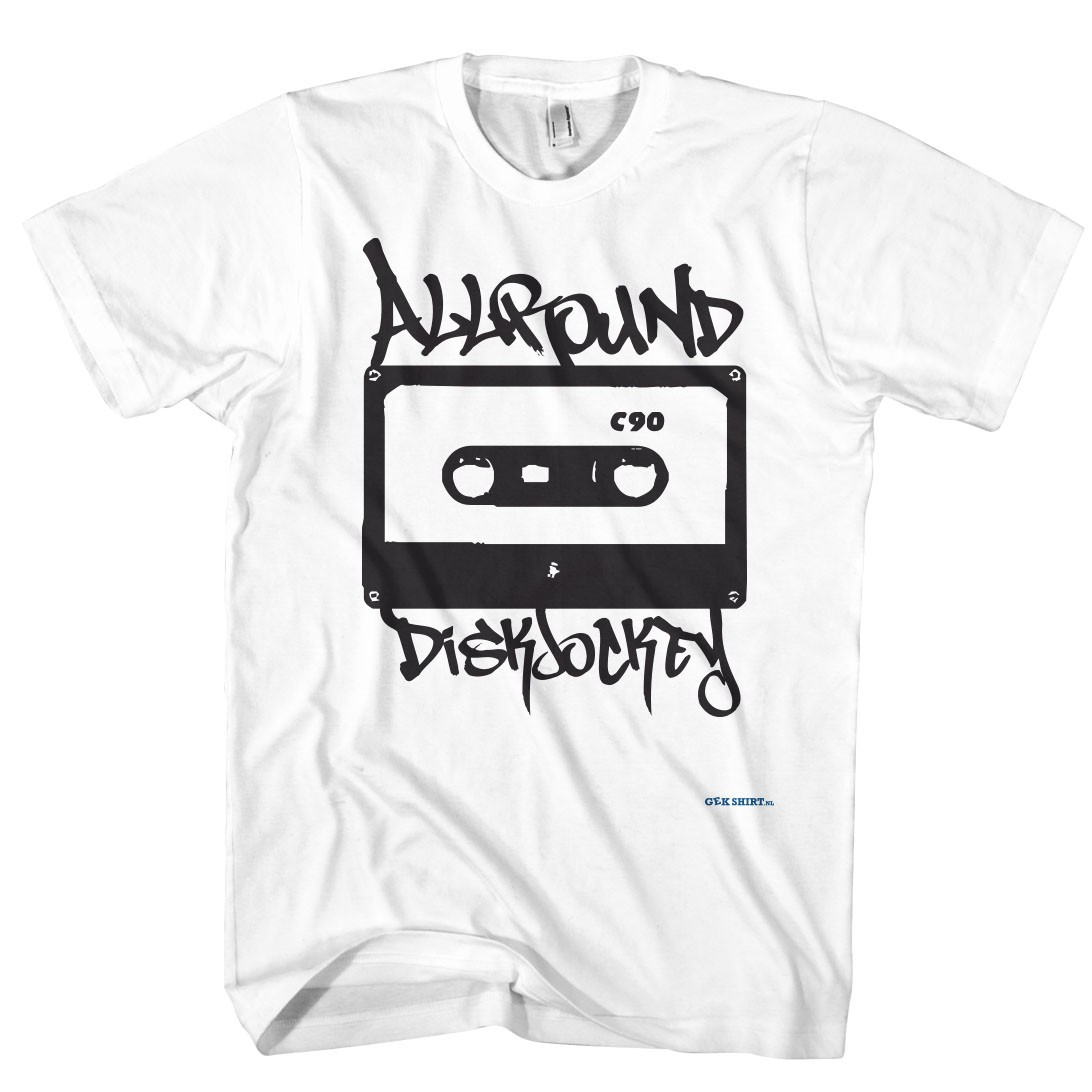 Dj t-shirt, Allround diskjockey