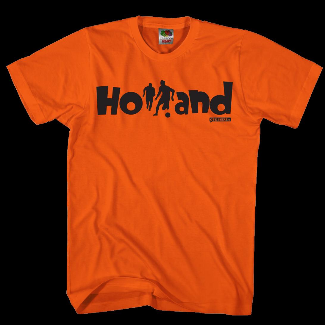 Holland silhouet Shirt EK 2021