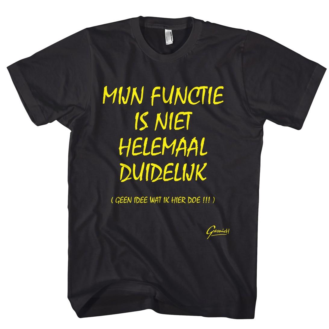 Cadeau Idee Gekshirt Leuke Gekke T Shirts