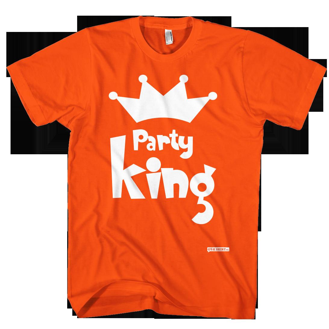Party King Koningsdag shirt