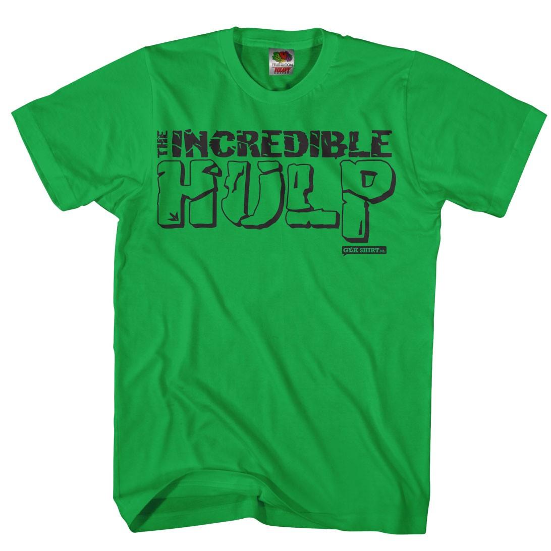 The incredible HULP Grappig hulk shirt