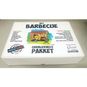 Barbecue overlevingspakket Leuk BBQ pakket