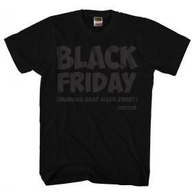 Black Friday Vandaag gaat alles zwart