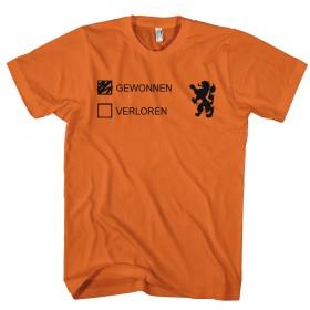 Gewonnen / verloren shirt