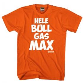 Hele BULL gas MAX Oranje verstappen fan shirt