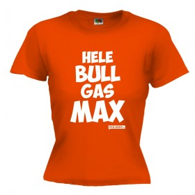 Hele bull gas Max Dames shirt