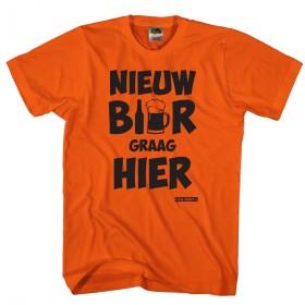 Nieuw bier graag hier Oranje shirt