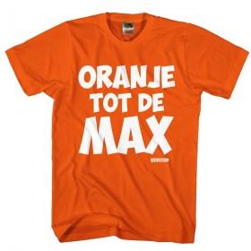 oranje tot de MAX