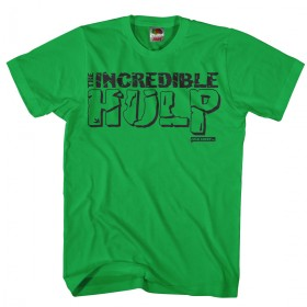 The incredible HULP Grappig hulk shirt