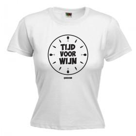 Tijd voor wijn Dames shirt