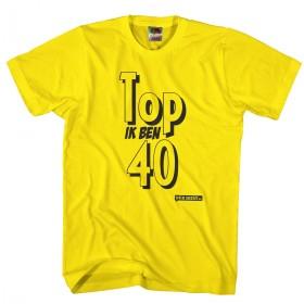 Top ik ben 40 shirt 40 jaar shirt