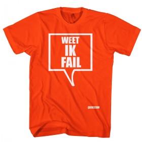Weet ik FAIL t-shirt
