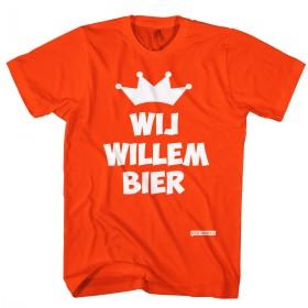 Wij Willem bier, Koningsdag t-shirts