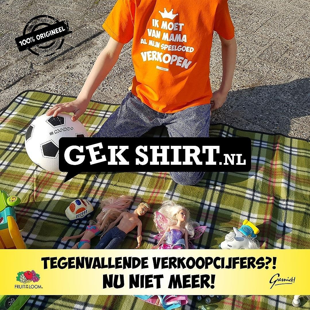 Kinder shirt Koningsdag